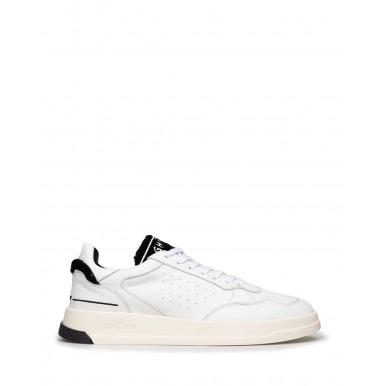 Men's Sneakers Shoes GHOUD Venice TWLM CS06 Wht Blk Leather White