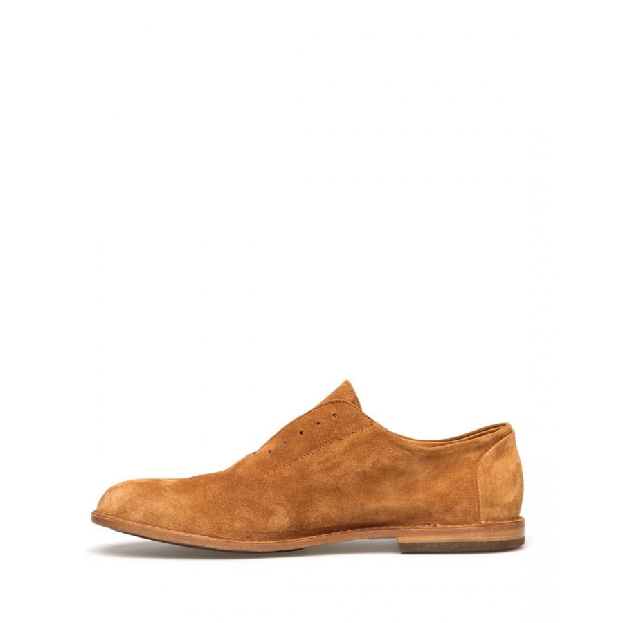 Men's Shoes PANTANETTI 14433A Soffice Cognac Suede Brown