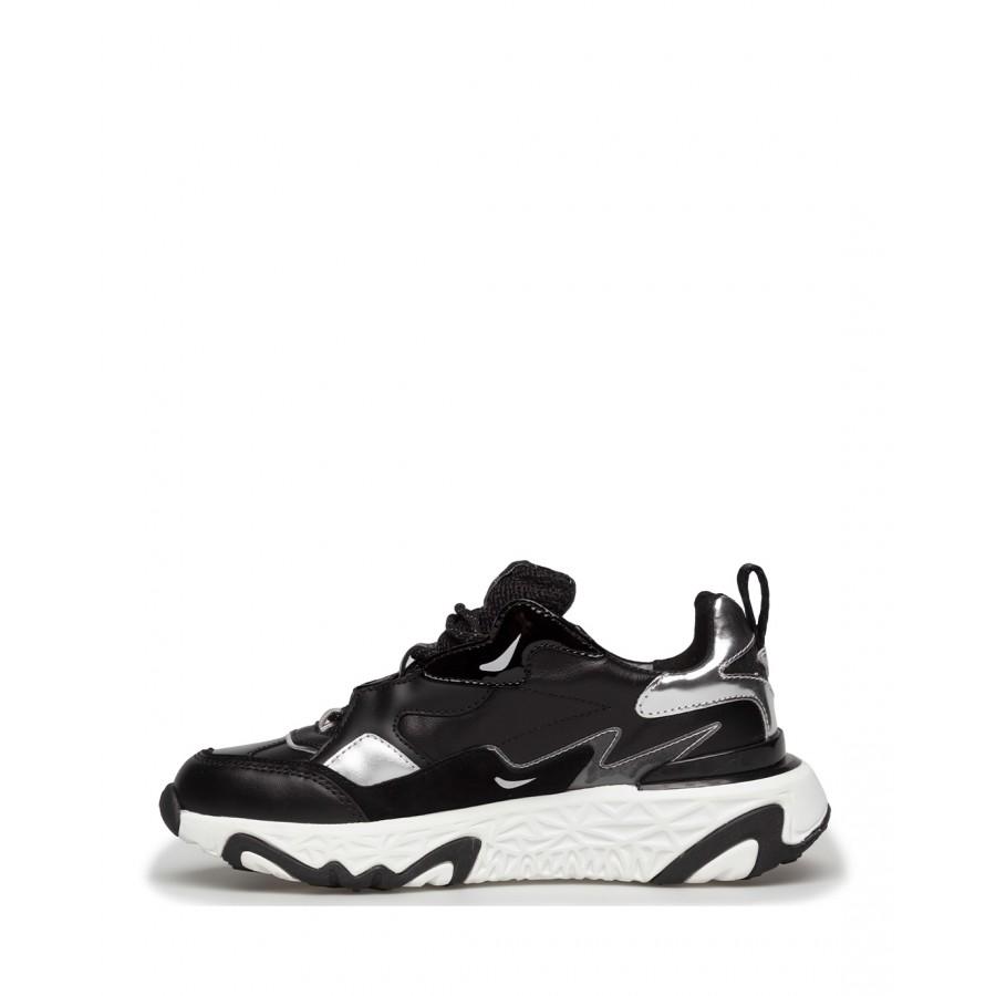Women's Sneakers KARL LAGERFELD KL62420000 Black Leather