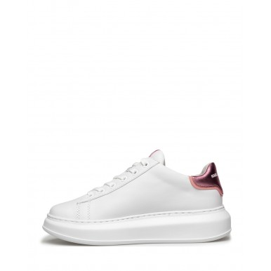 Women's Sneakers KARL LAGERFELD KL6252001P White Pink Leather White
