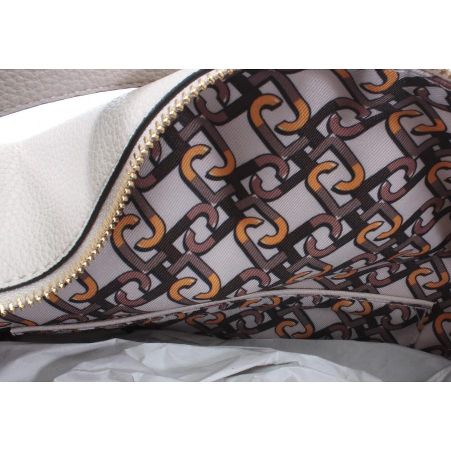 Women's Shoulder Bag LIU JO Milano N69125 E0027 Synthetic White