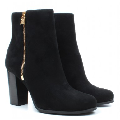Women's Ankle Boots Donna MICHAEL KORS 40F9FRHE5S Frenchie Suede Black