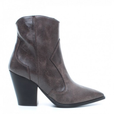 Women's Ankle Boots JANET & JANET 44511 Felicia TMoro Leather Brown