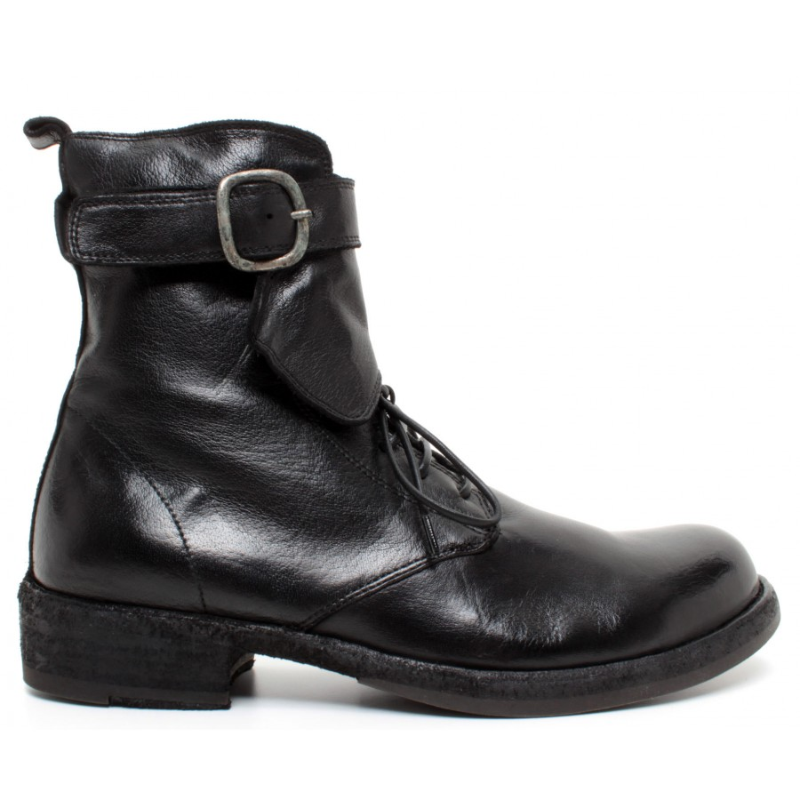 Women's Ankle Boots OFFICINE CREATIVE Legrand/142 Leather Black