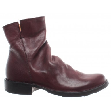 BAKER RAKEL-B9 Rocker Leather Brown Women/'s Shoes Ankle Boots FIORENTINI
