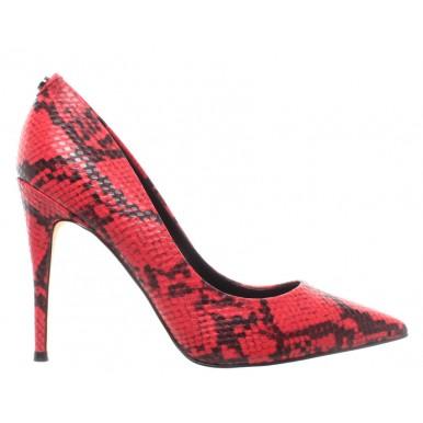Women's Decollete GUESS FL7OK7PEL08 Red Python