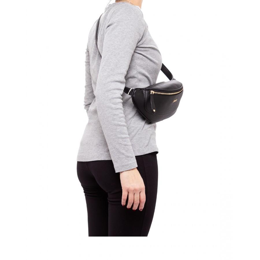 Women's Shoulder Bag Waist  LIU JO Milano AA1070 E0027 Nero Synthetic Black