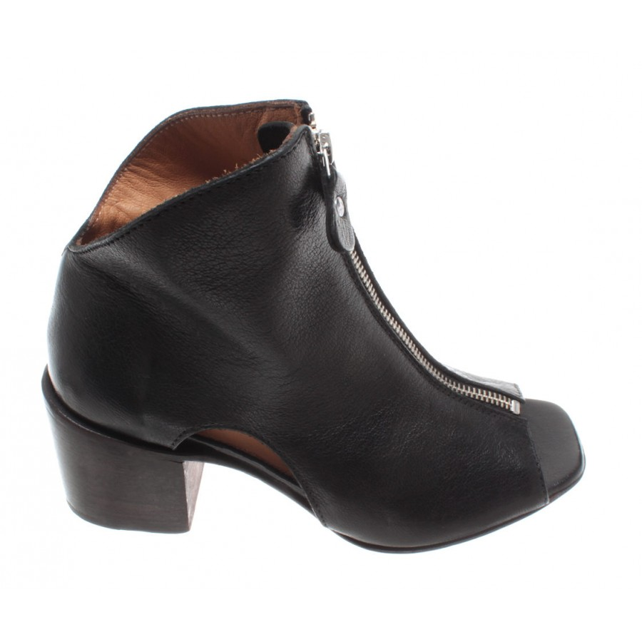 Details about  /Women/'s Shoes Ankle Boots Sandals MOMA 47905-5A Cervo Nero Leather Made In Italy