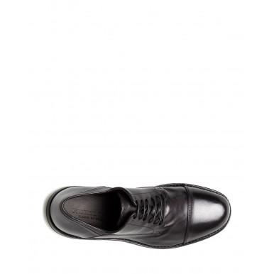 Men's Classic Shoes PANTANETTI 14404E Guelfo Nero Leather Black