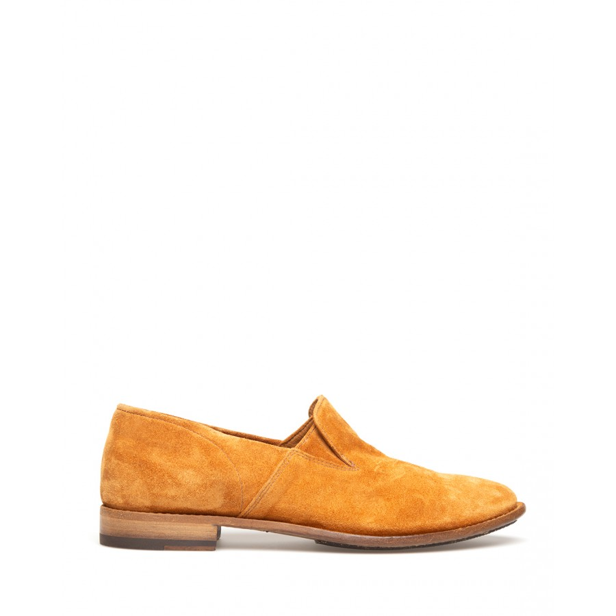 Women's Shoes Loafers PANTANETTI 14114A Soffice Terra Suede Beige