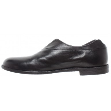 PANTANETTI Women's Shoes 12222D Softy Skin Nero Leather Black Made In Italy New
