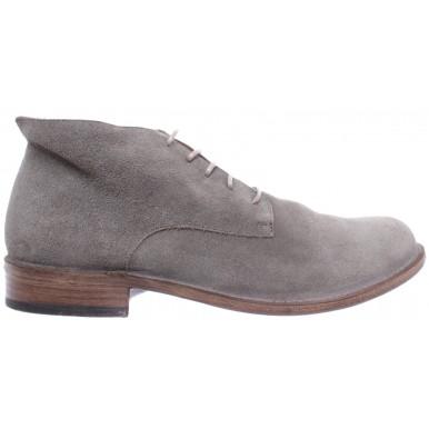 Men's Shoes Desert Boots FIORENTINI + BAKER Paternity P-EDD 9 Suede Gray