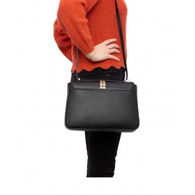 Women's Shoulder Bag LOVE MOSCHINO JC4091 Pu Nero Synthetic Black