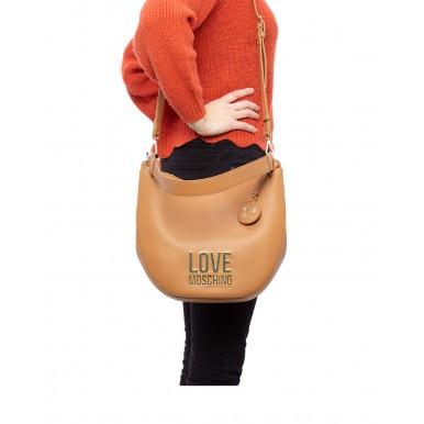 Women's Shoulder Bag LOVE MOSCHINO JC4106 Pu Cammello Synthetic Beige