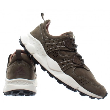 FLOWER MOUNTAIN Herren Schuhe Sneakers Corax 2 Man Military Green Agion Cork Neu
