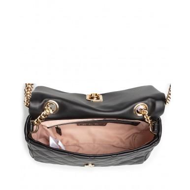 Women's Shoulder Bag LIU JO AA1340 E0013 Nero Synthetic Black