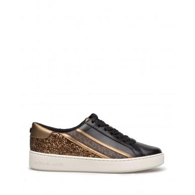 Women's Sneakers MICHAEL KORS 43R1SLFS1L Slade Leather Glittert Black