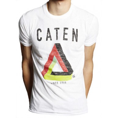 Herren T-Shirt DSQUARED Caten Since 1964 100% Baumwolle Made In Italy New Neu
