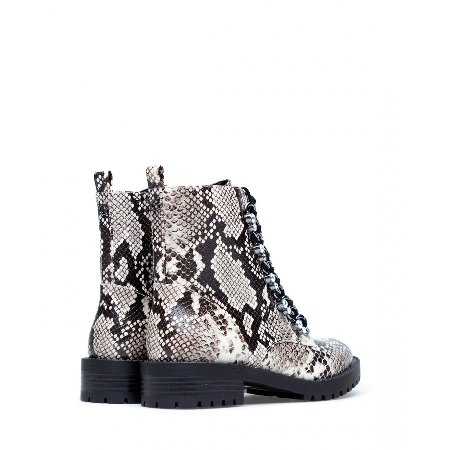 Women's Ankle Boots Shoes GUESS FL7HIEPEL10 LGrey Synthetic Leather