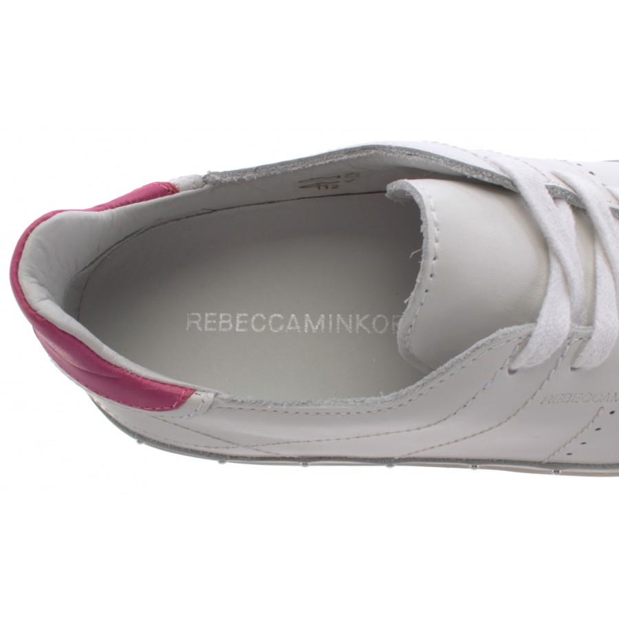 Women's Shoes Sneakers REBECCA MINKOFF 00MI NA01 Michell Nappa White Low New