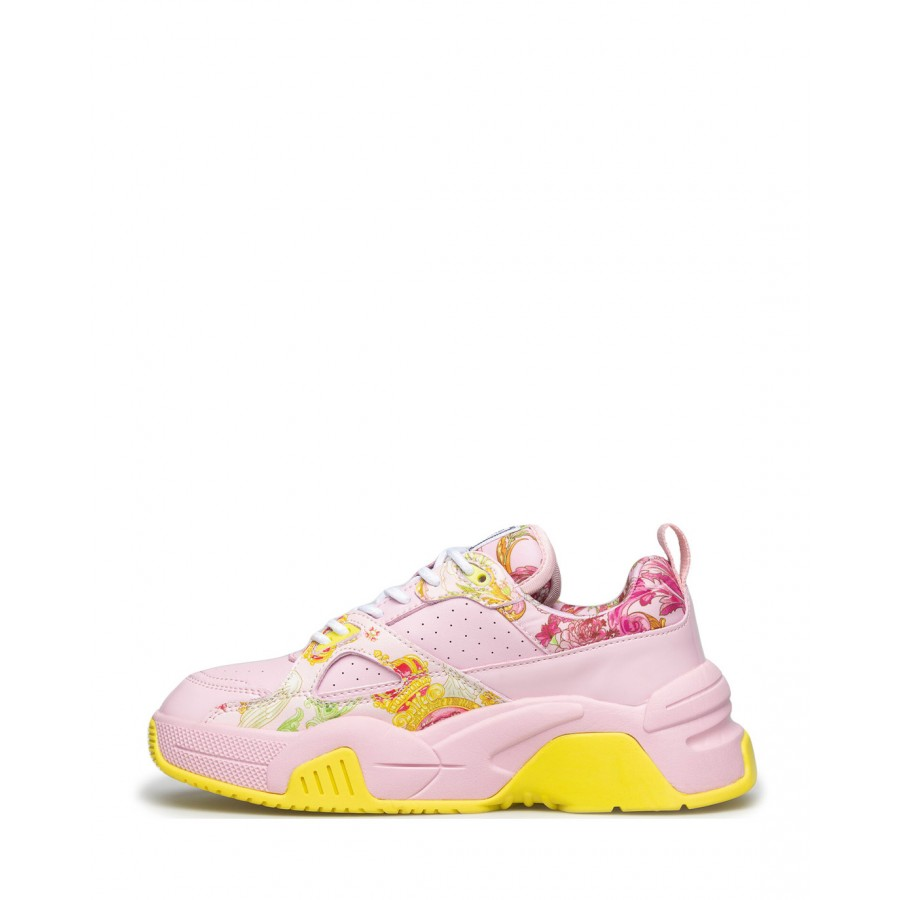 Women's Sneakers VERSACE JEANS COUTURE E0VWASF3 71953 O37 Synthetic Pink