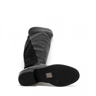 Women's Boots LIU JO Milano Flora4 Black P0102 Leather Synthetic