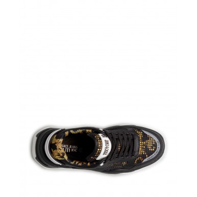 Men's Sneakers VERSACE JEANS COUTURE E0YWASF9 71970 M27 Synthetic Black
