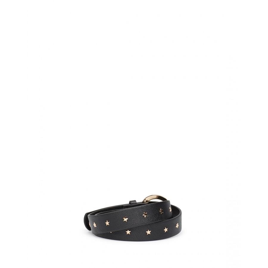 Women's Belt LIU JO Milano NF0075 Nero Synthetic Black