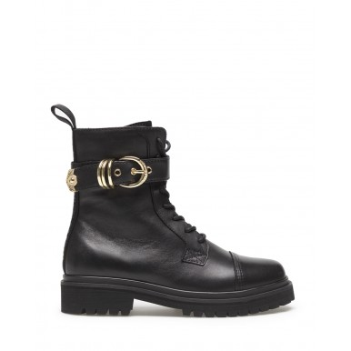 Women's Ankle Boot VERSACE JEANS COUTURE E0VZAS41 71563 899 Leather Black