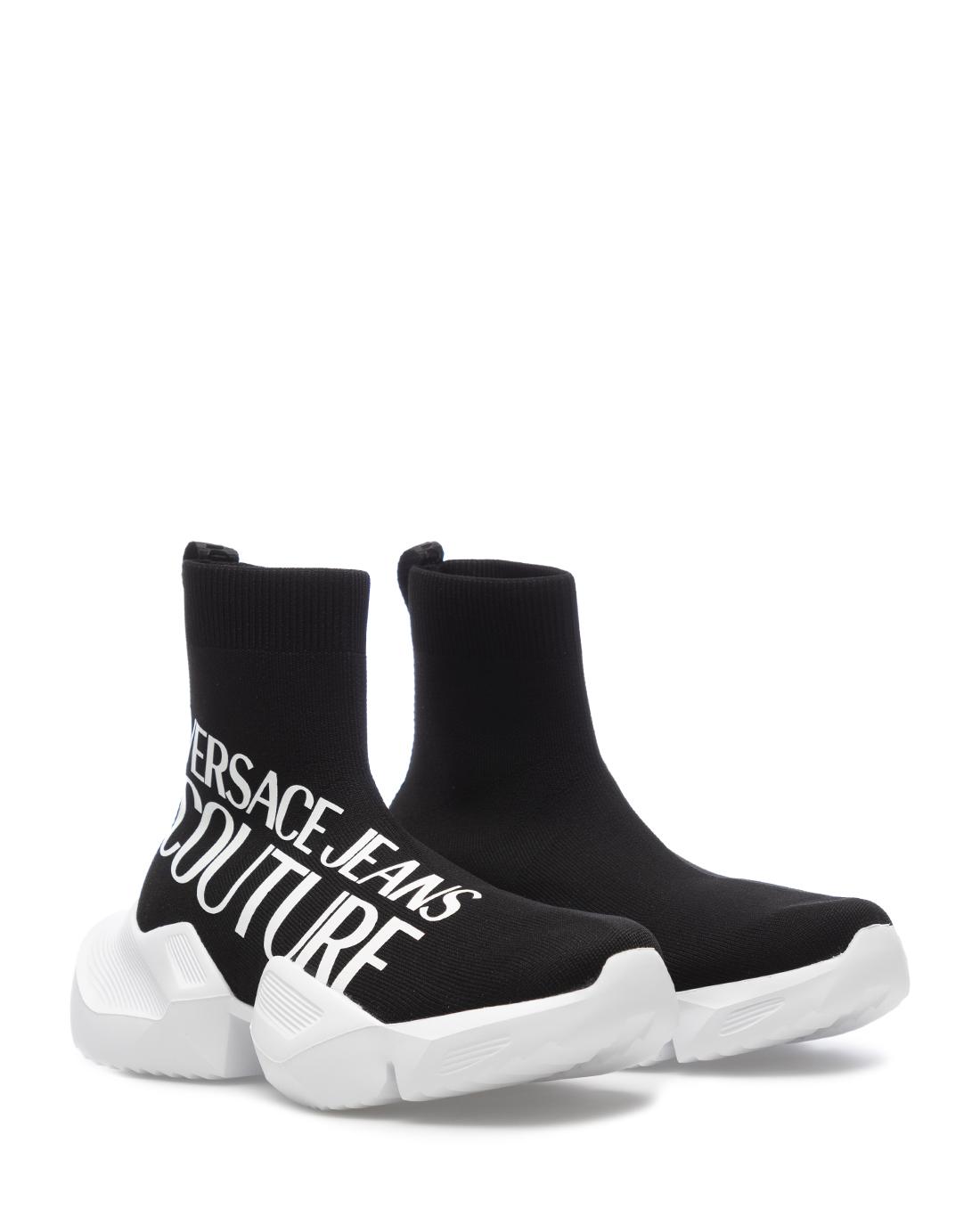 Sneakers Hommes VERSACE JEANS COUTURE E0YZASU3 71624 M60 Synthétique Noir