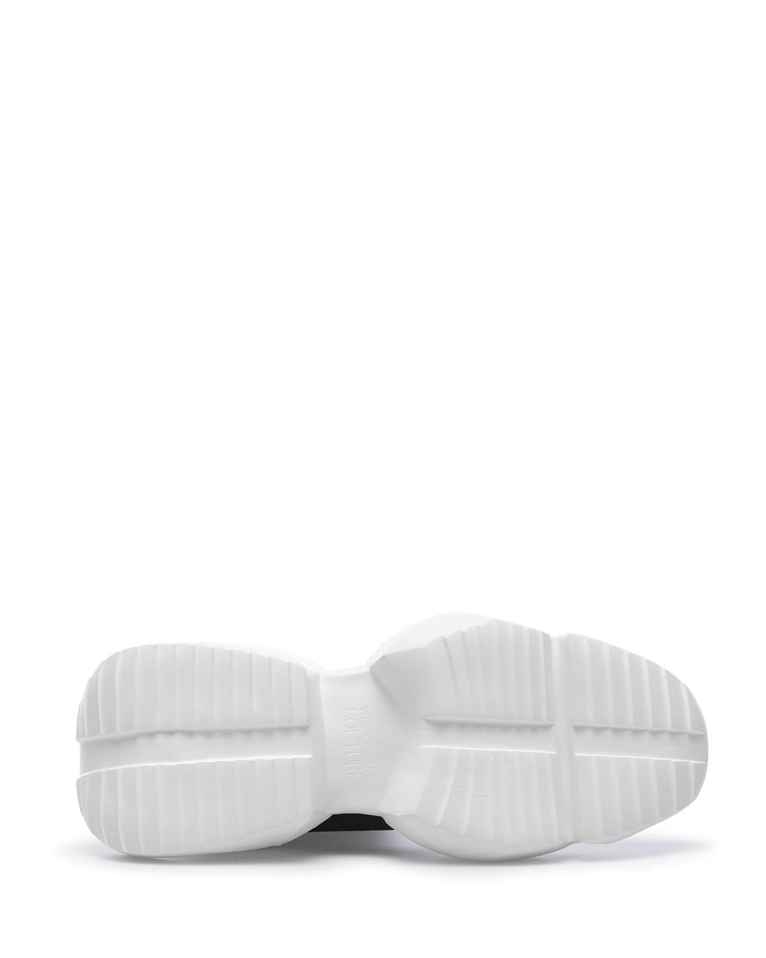 miniature 6 - Sneakers Hommes VERSACE JEANS COUTURE E0YZASU3 71624 M60 Synthétique Noir