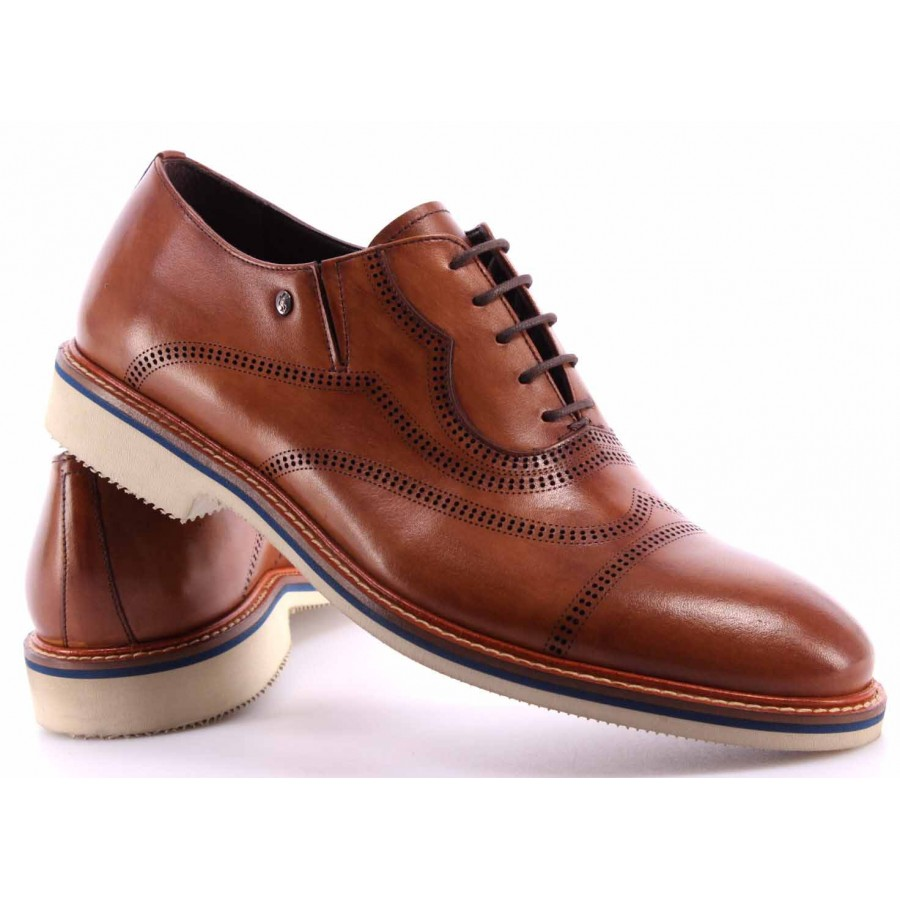 Men's Shoes ROBERTO SERPENTINI Leather 42915 141 Business Elegance Hand Made IT