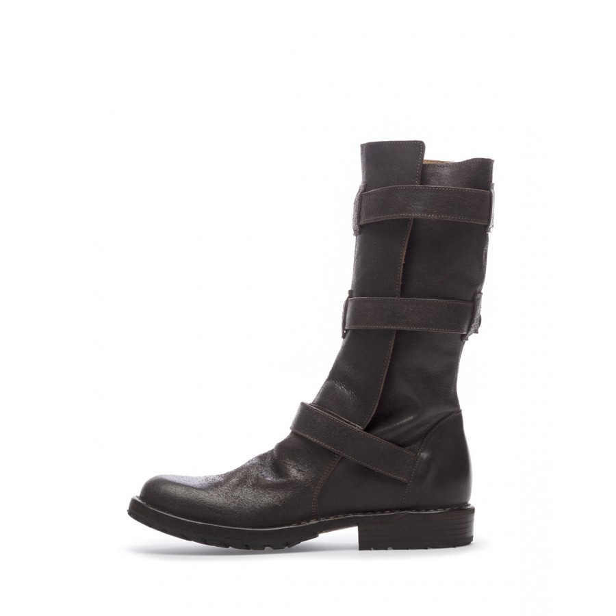 Bottines Femmes FIORENTINI + BAKER Eternity Big B-7040 0 Caffe Cuir Marron