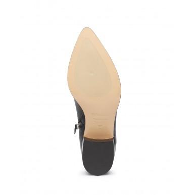 Women's Ankle Boots POMME D'OR 5181D Seta Nero Leather Black