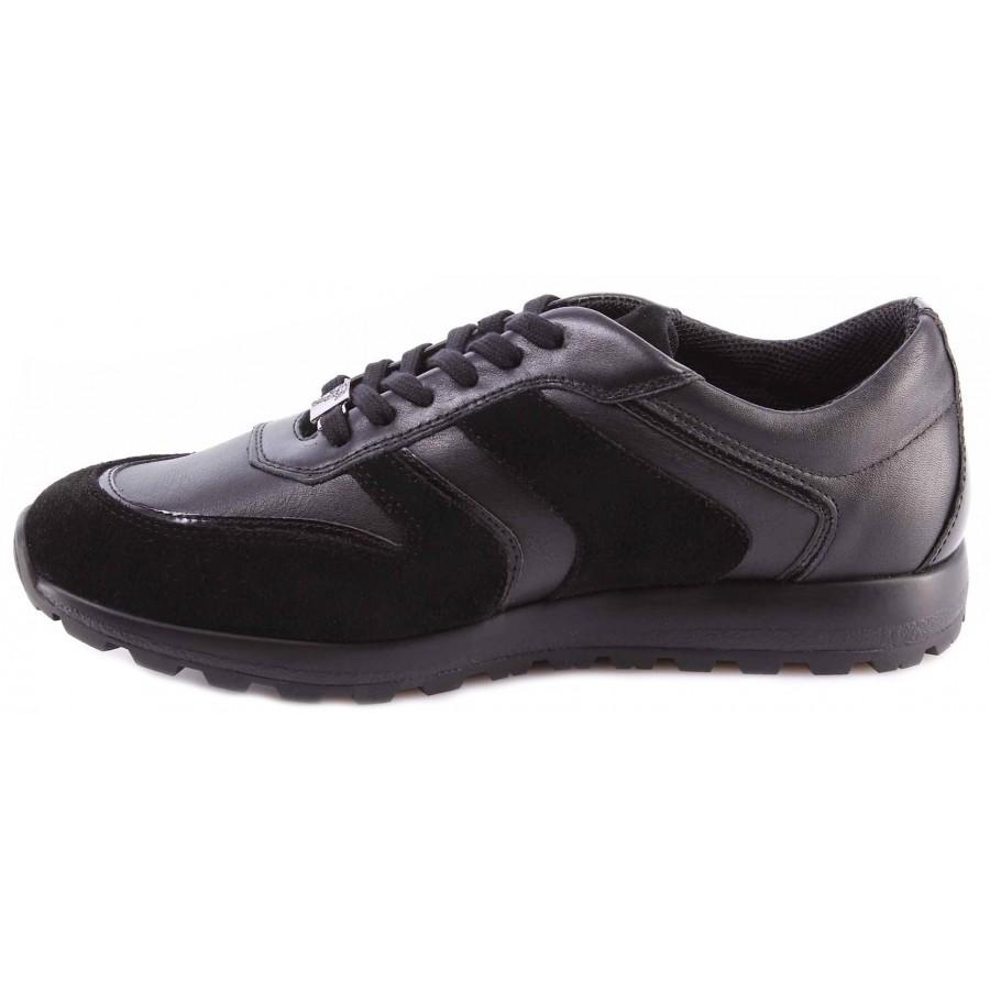 Herren Schuhe Sneakers MOMA 12901-4F Oliver Blu Wildleder Blau Made In Italy Neu