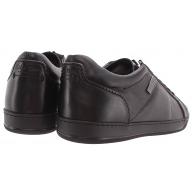 Men's Shoes Sneakers CALVIN KLEIN Collection 04025/AC SCalf Nero Black Leather
