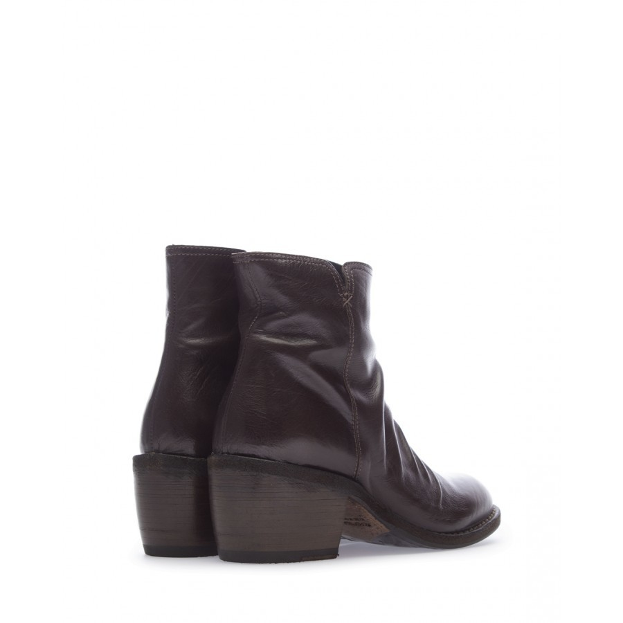 Women's Ankle Boots FIORENTINI + BAKER RUM RAZ Kallax Leather Brown