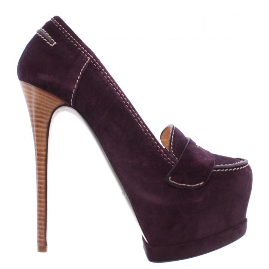 Women's Décolleté Heels Plateau Shoes GIANMARCO LORENZI A4D1K0509 Malito Barol