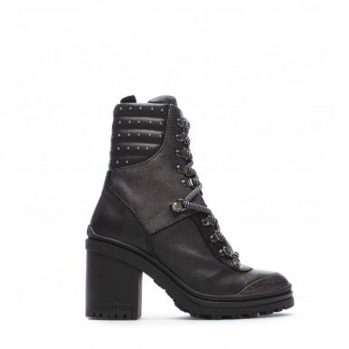 Women's Ankle Boots LIU JO Milano Dalia 9 Black Synthetic Leather