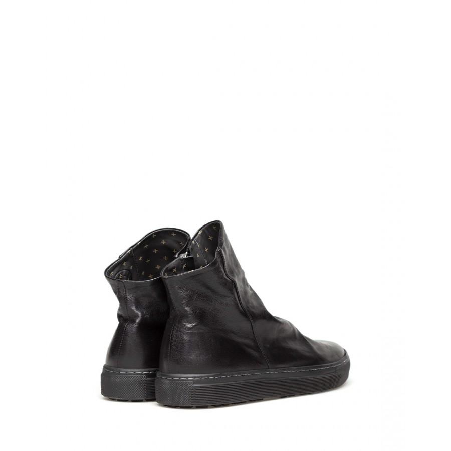 Men's Ankle Boot FIORENTINI + BAKER Biel V Danny Nero Leather Black