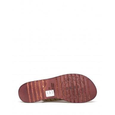 Women's Sandals FIORENTINI + BAKER Zeya V Prin Metal Oro Leather Gold