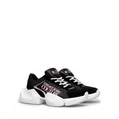 Women's Sneakers VERSACE JEANS COUTURE E0VWASU3 71929 899 Leather Black