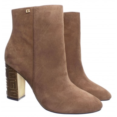 Women's Ankle Boots GUESS FL8LARSUE09 Tan Synthetic Beige
