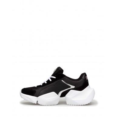 Sneakers Femmes VERSACE JEANS COUTURE E0VWASU3 71929 899 Cuir Noir