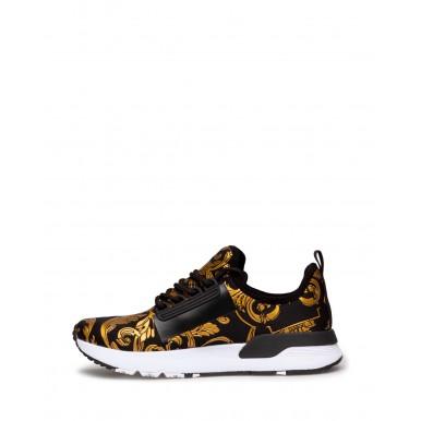 Sneakers Femmes VERSACE JEANS COUTURE E0VWASA5 71934 M27 Synthétique Noir