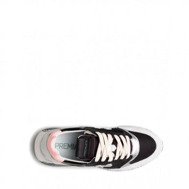 Damen Sneakers PREMIATA ZacZacD 3060 Leder Nylon Weiss