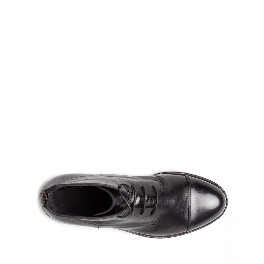 Women's Ankle Boots PANTANETTI 13628C Lagos Nero Leather Black