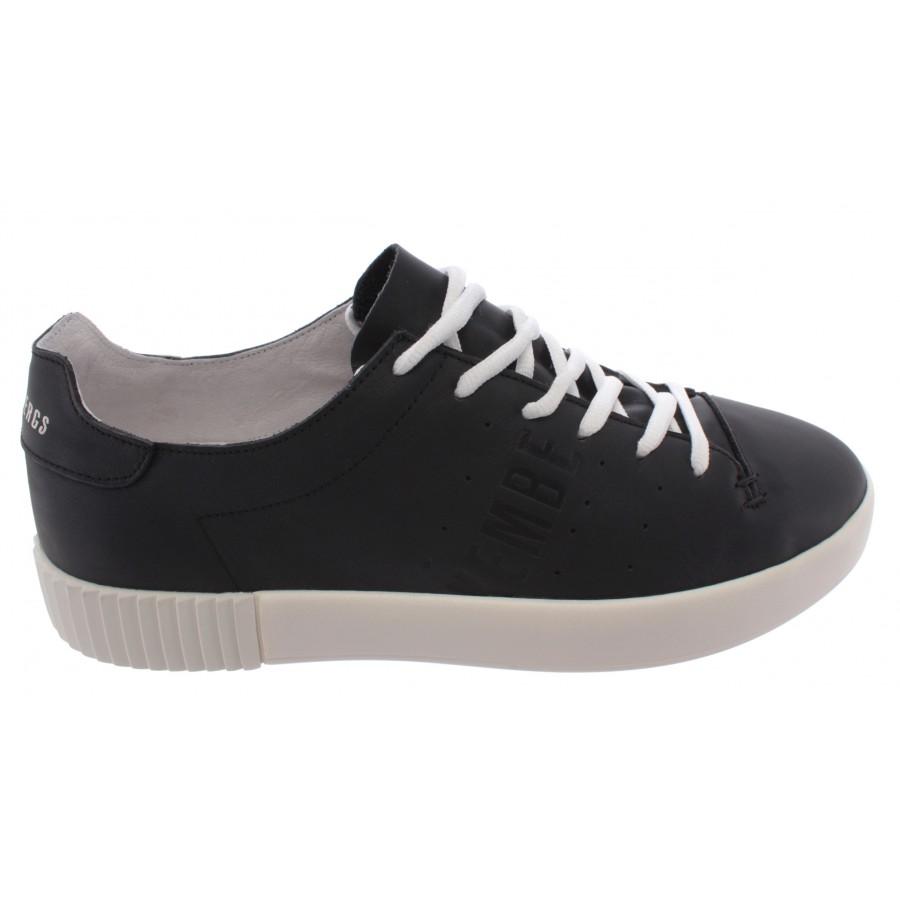 Men's Sneakers BIKKEMBERGS BKE109341 Black Leather New