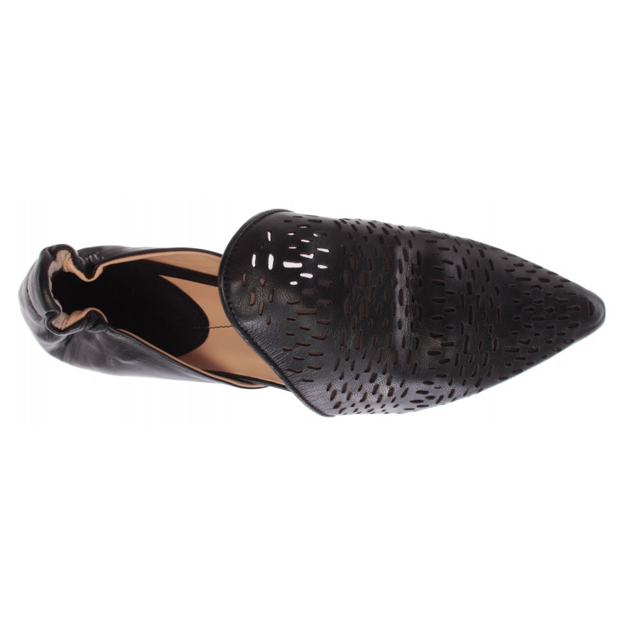 Women's Shoes iXOS Joyce leather Black Real Made In Italy