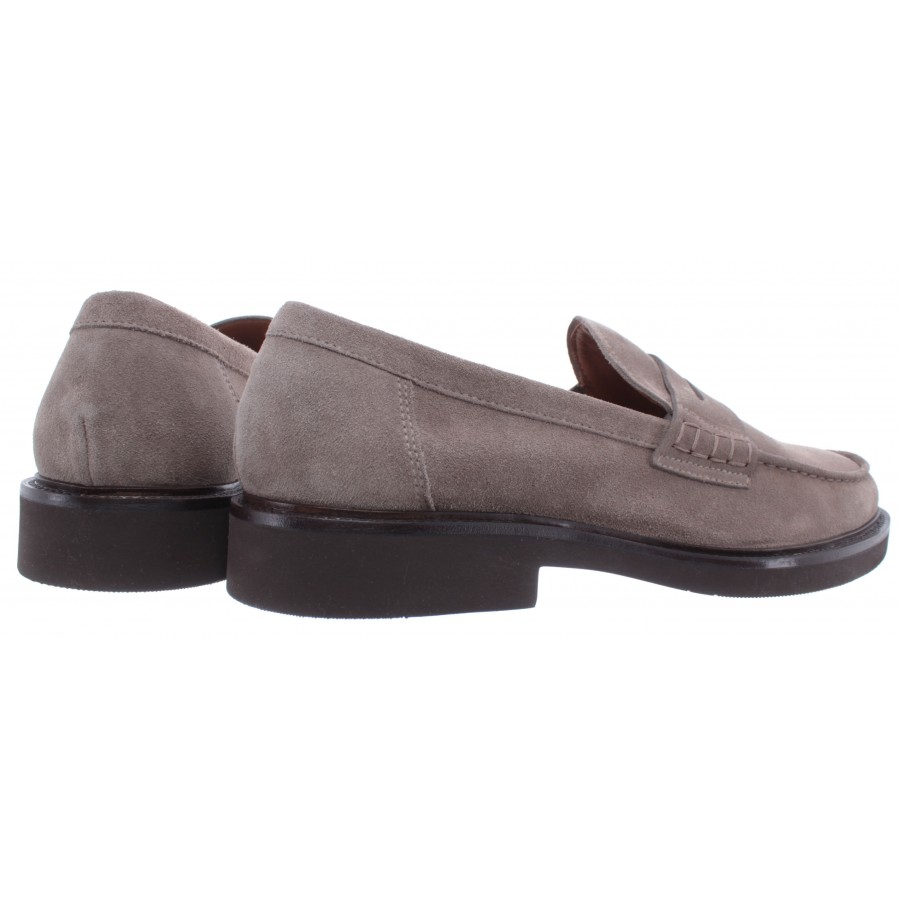 Men's Loafers DOUCAL'S Daino Taupe Suede Gray